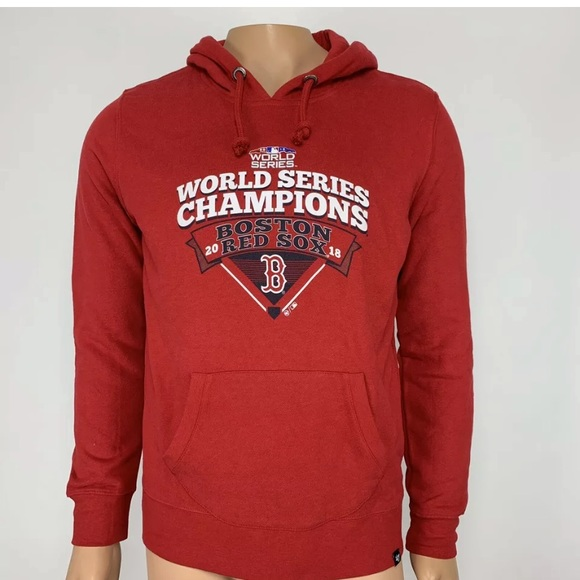 cheap for discount 8640e b8309 NWOT '47 MLB Boston Red Sox World Series Hoodie